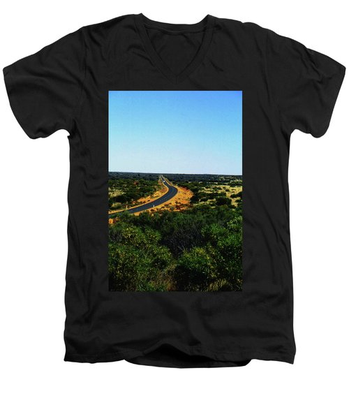 Road To Nowhere Men's V-Neck T-Shirt