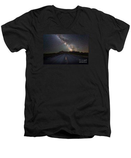 Road To The Heavens Men's V-Neck T-Shirt