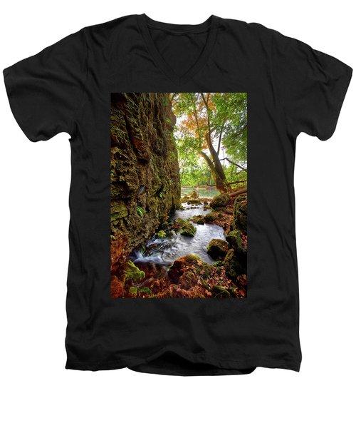 Roaring Spring Men's V-Neck T-Shirt