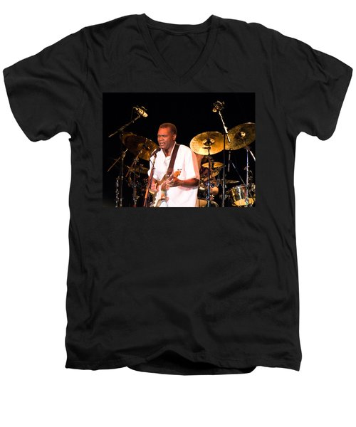 Robert Cray Men's V-Neck T-Shirt