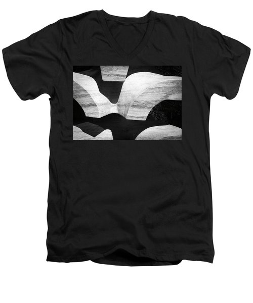 Rock And Shadow Men's V-Neck T-Shirt