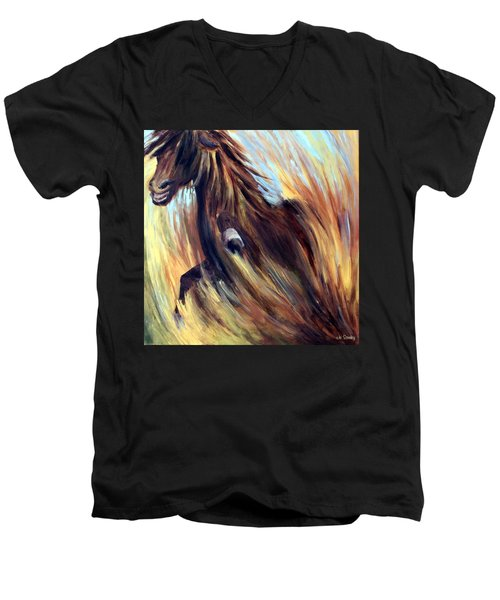 Rock Star Men's V-Neck T-Shirt