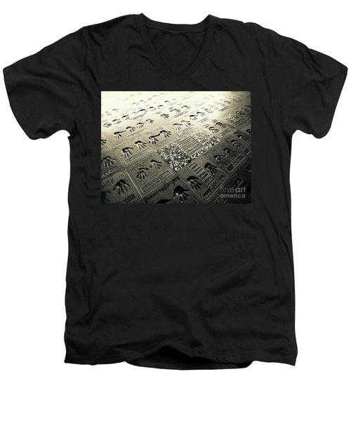 Rock Walk Men's V-Neck T-Shirt