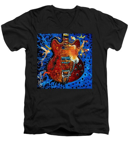 Rockin Epiphone Men's V-Neck T-Shirt