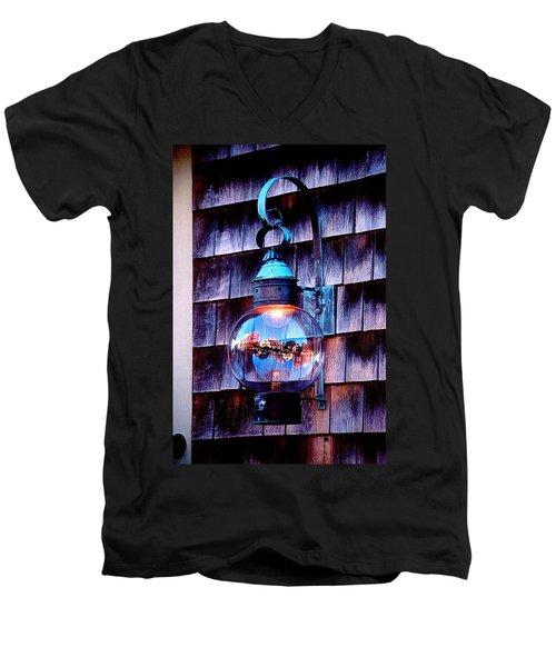 Rockport Light Men's V-Neck T-Shirt by Greg Fortier