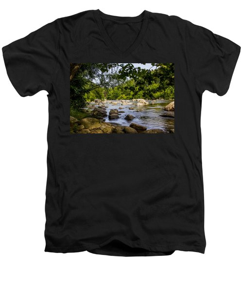 Rocky Broad River Men's V-Neck T-Shirt