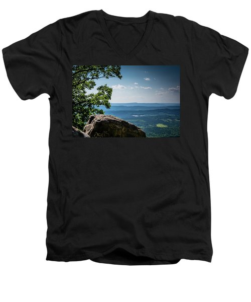 Rocky Perch Men's V-Neck T-Shirt