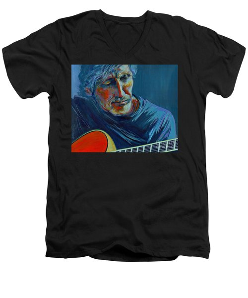 Roger Waters. Do You Think You Can Tell  Men's V-Neck T-Shirt