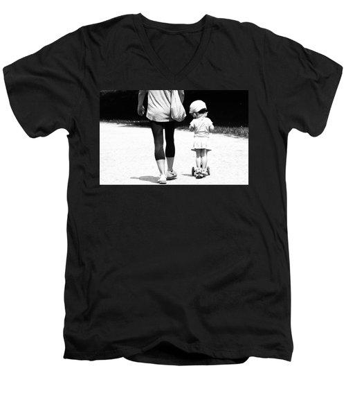 Rolling With Moms Men's V-Neck T-Shirt