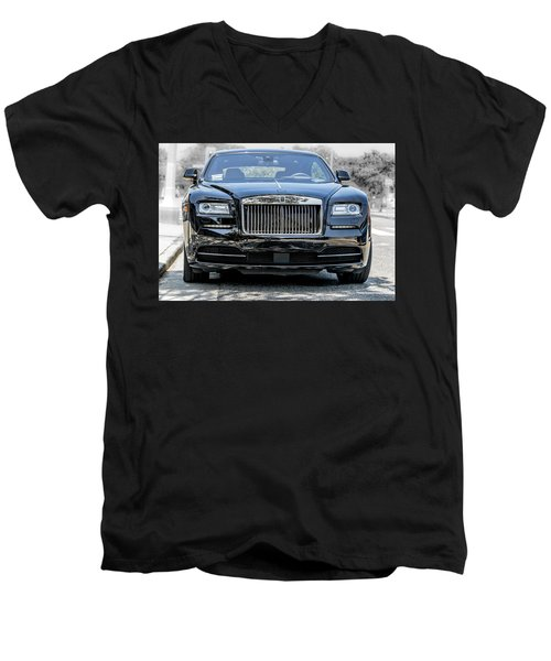 Rolls - Royce Wraith Coupe 2016 Men's V-Neck T-Shirt