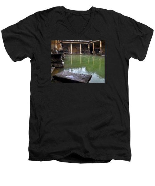 Roman Bath Men's V-Neck T-Shirt