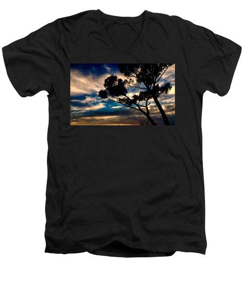 Roman Sunset Men's V-Neck T-Shirt