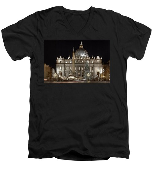 Rome Vatican Men's V-Neck T-Shirt