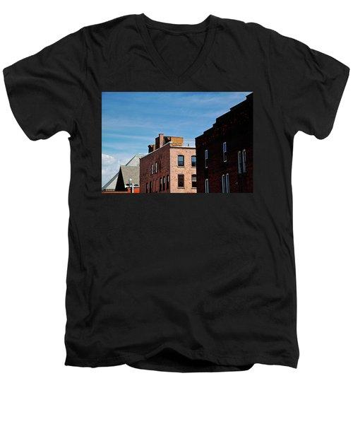 Rooflines No. 2 Men's V-Neck T-Shirt