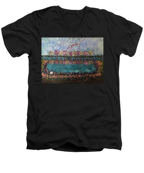 Roots And Wings Men's V-Neck T-Shirt