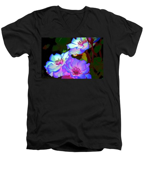 Rose 127 Men's V-Neck T-Shirt
