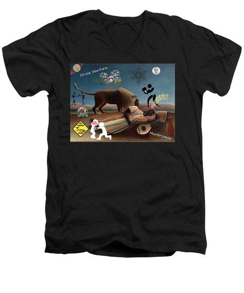 Rousseau's Nightmare Men's V-Neck T-Shirt