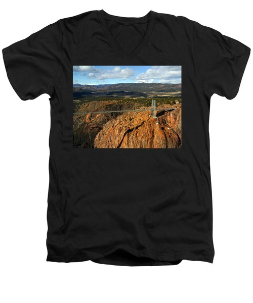 Royal Gorge Men's V-Neck T-Shirt