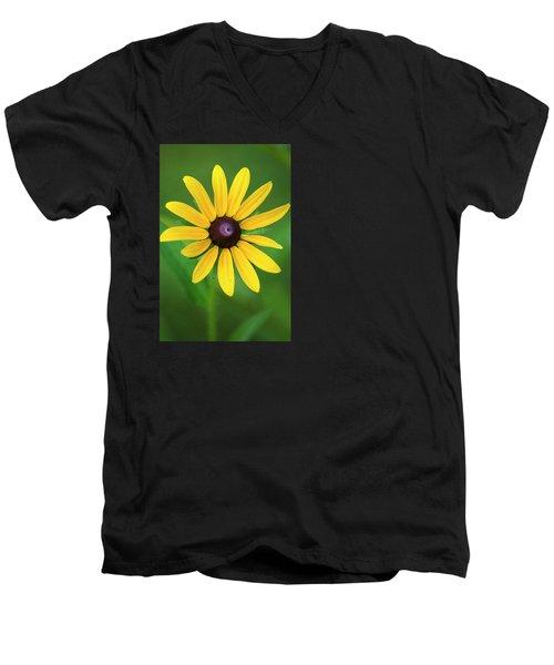Rudbeckia Flower Men's V-Neck T-Shirt