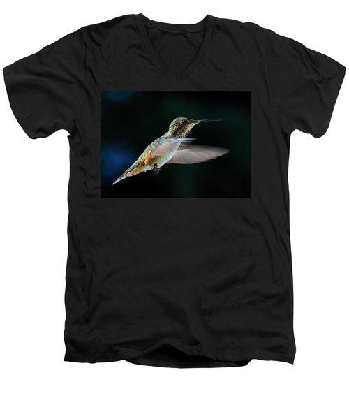 Rufous Men's V-Neck T-Shirt