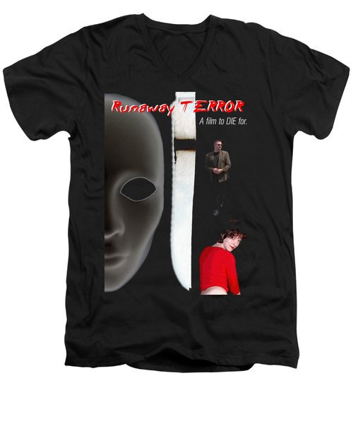 Runaway Terror 5 Men's V-Neck T-Shirt