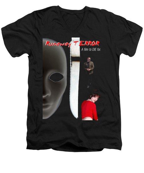 Runaway Terror 5 Men's V-Neck T-Shirt