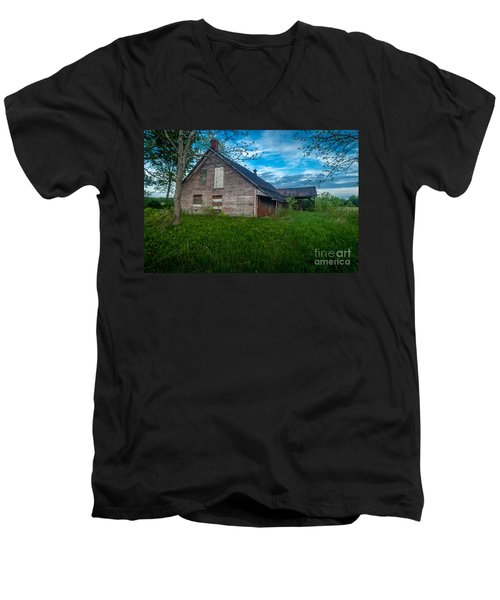 Rural Slaughterhouse Men's V-Neck T-Shirt