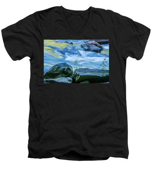 Rushing Creek Men's V-Neck T-Shirt
