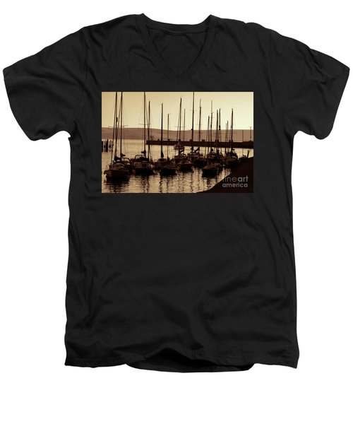 Russet Harbour Men's V-Neck T-Shirt