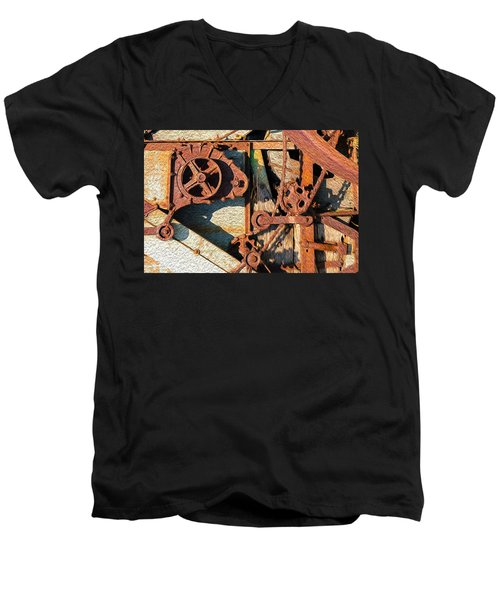 Rusted Reaction Men's V-Neck T-Shirt