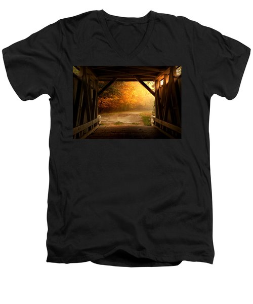 Rustic Beauty 2.0 Men's V-Neck T-Shirt