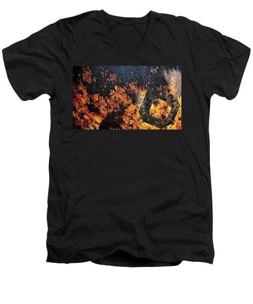 Rusty Hull 6 Men's V-Neck T-Shirt