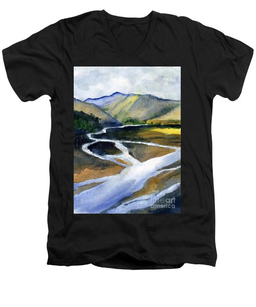 Sacramento River Delta Men's V-Neck T-Shirt