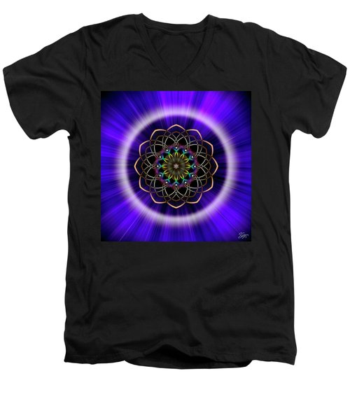 Sacred Geometry 242 Men's V-Neck T-Shirt