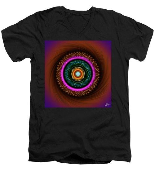 Sacred Geometry 664 Men's V-Neck T-Shirt