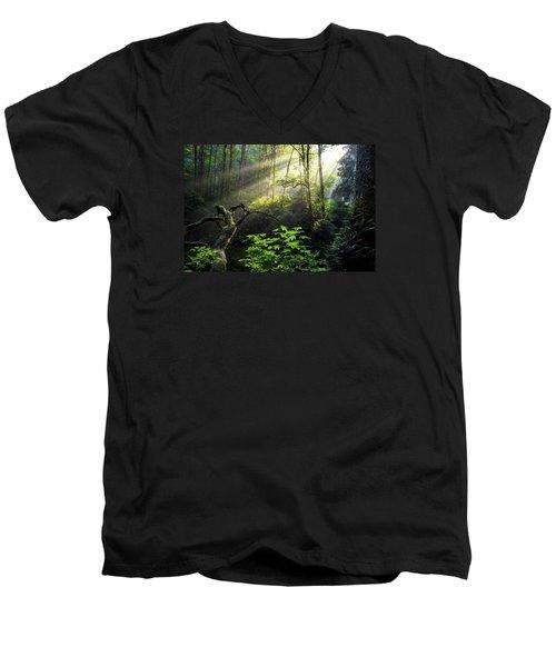 Sacred Light Men's V-Neck T-Shirt