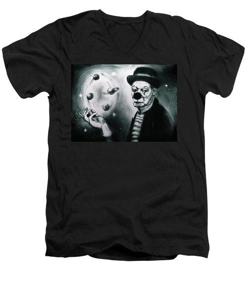 Sadness Of Creator Men's V-Neck T-Shirt