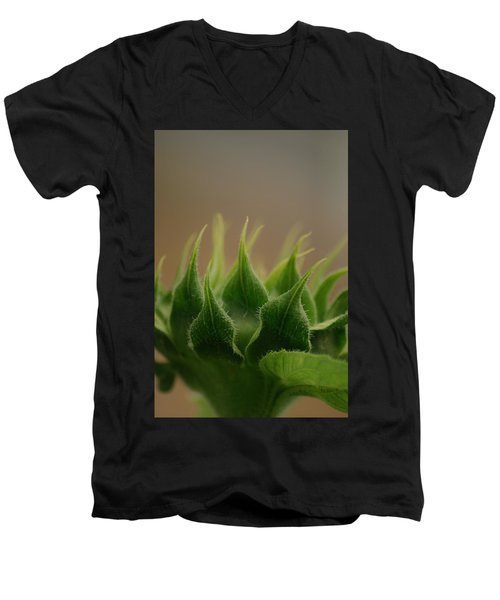 Men's V-Neck T-Shirt featuring the photograph Safe Within by Ramona Whiteaker