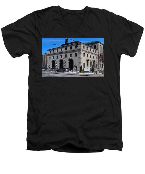 Safety Building Men's V-Neck T-Shirt