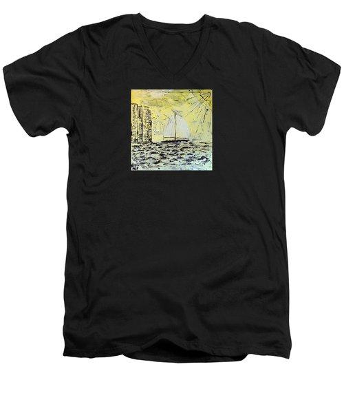Sail And Sunrays Men's V-Neck T-Shirt