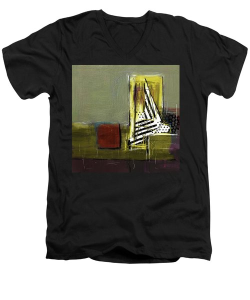 Sailing In Dreams Men's V-Neck T-Shirt