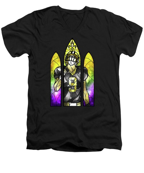 Saint Brees Men's V-Neck T-Shirt