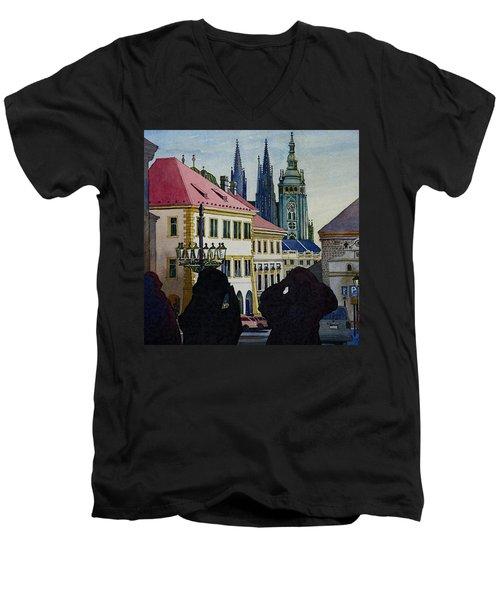 Saint Vitus Cathedral Men's V-Neck T-Shirt