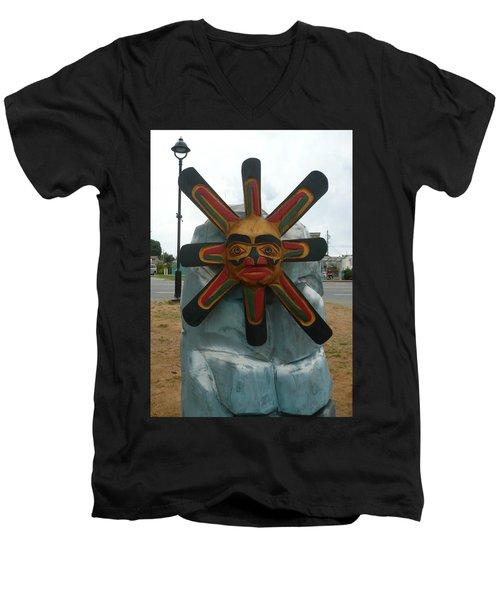 Salish Sun Men's V-Neck T-Shirt