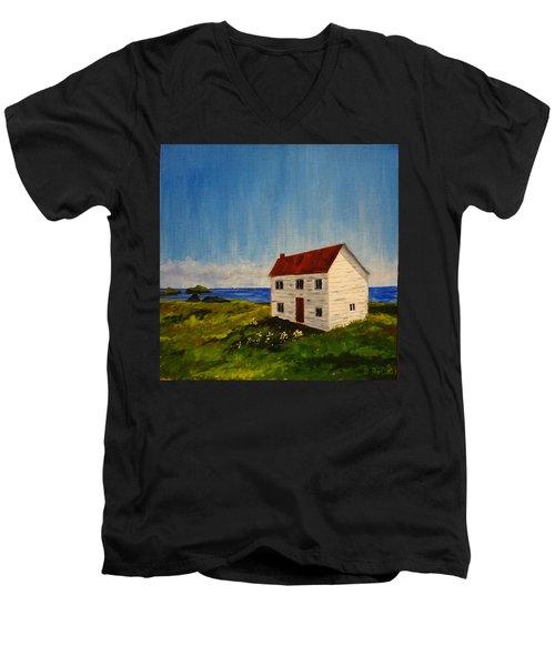 Saltbox House Men's V-Neck T-Shirt