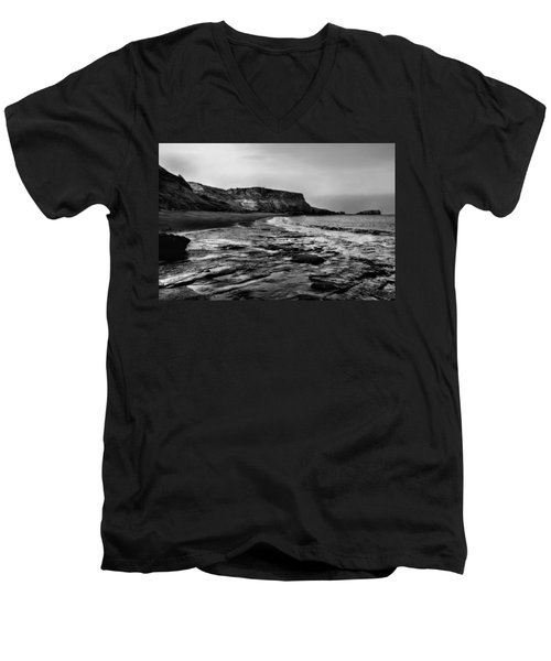 Saltwick Bay Men's V-Neck T-Shirt