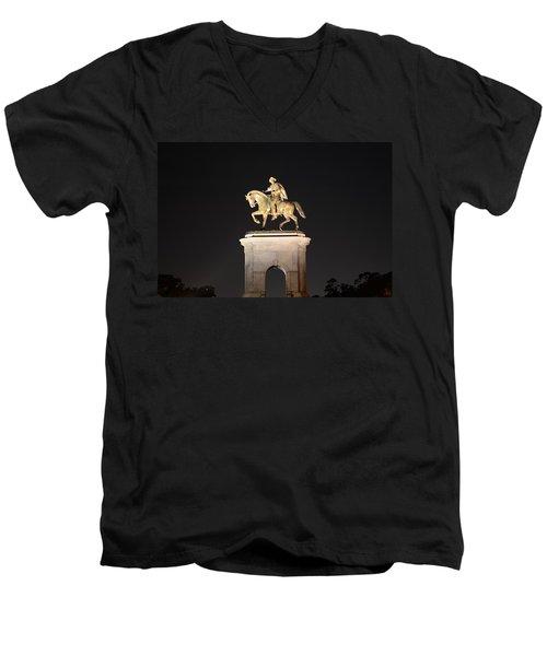 Sam Houston  Men's V-Neck T-Shirt