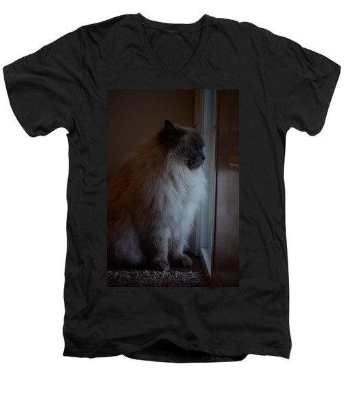 Sam Waits Men's V-Neck T-Shirt