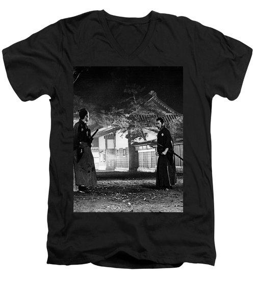 Samjuro Men's V-Neck T-Shirt