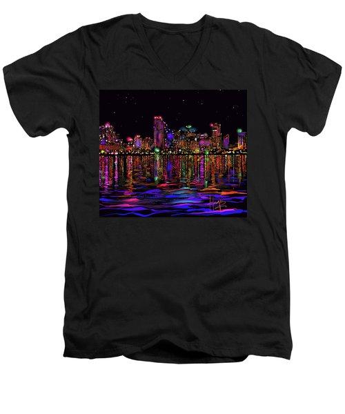 San Diego Stars Men's V-Neck T-Shirt